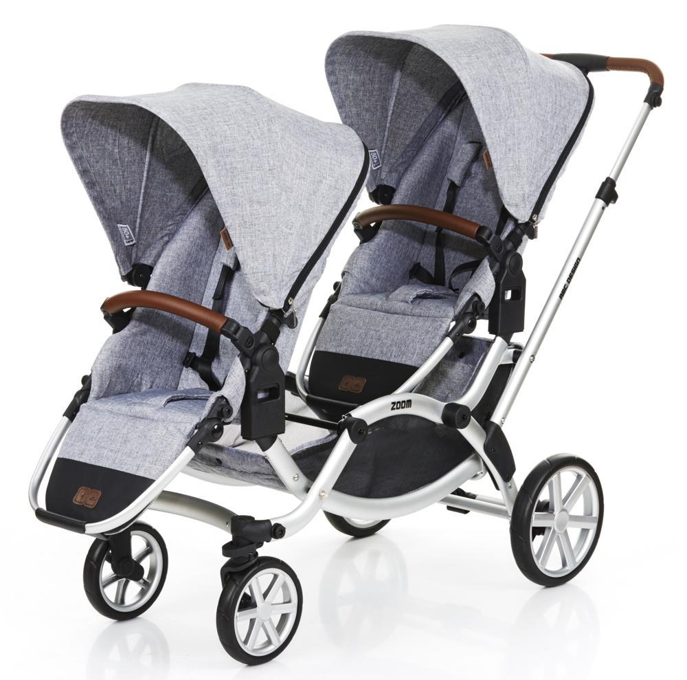 ABC Design Geschwisterwagen Zoom Graphite Grey