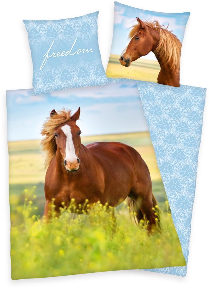 Herding Kinderbettwäsche Pferd Freedeom