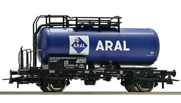 Roco 56258 H0 Kesselwagen ARAL DB IV