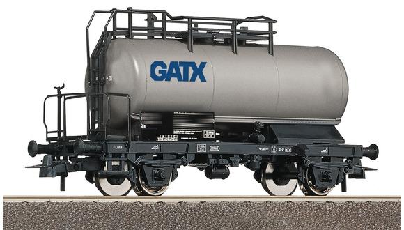 Roco 56260 H0 Kesselwagen grau GATX VI