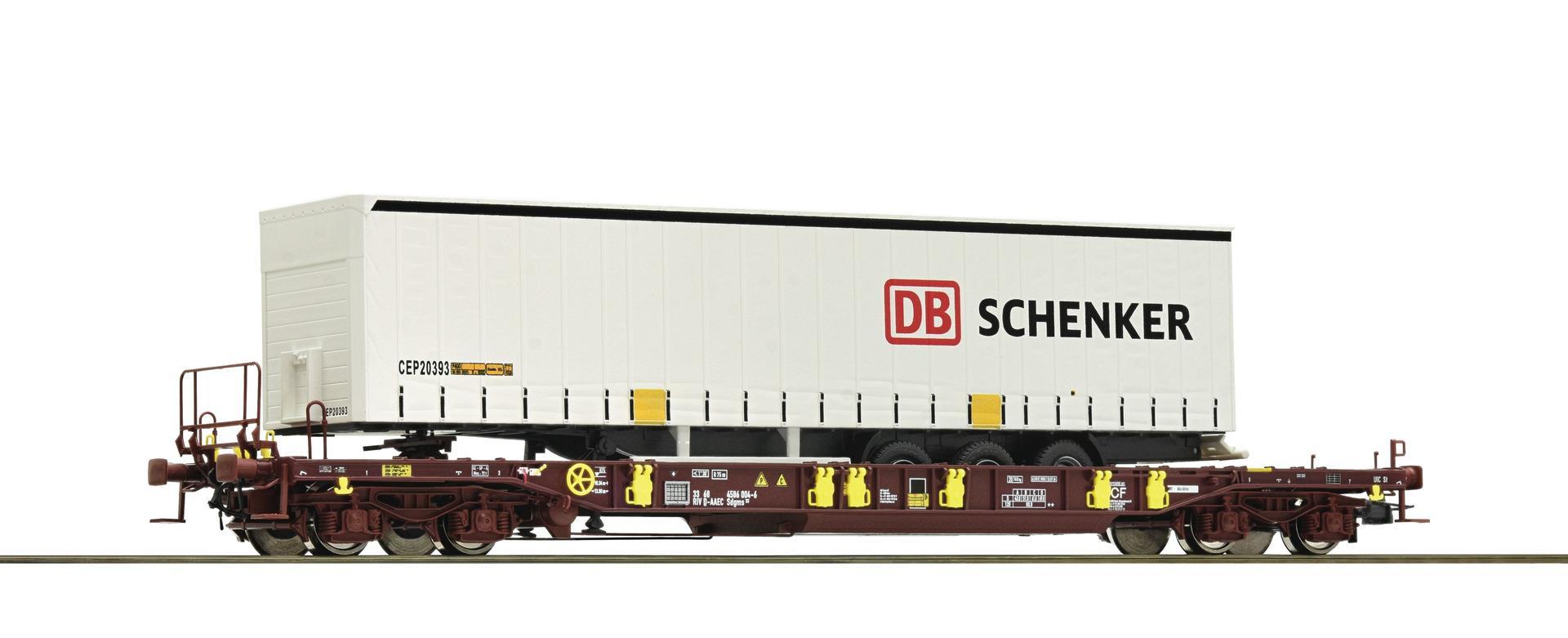 Roco 76220 H0 Taschenwagen T3 AAE/ DB Schenker VI