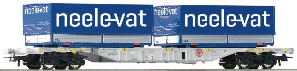 Roco 76620 H0 Containertragwagen AAE VI