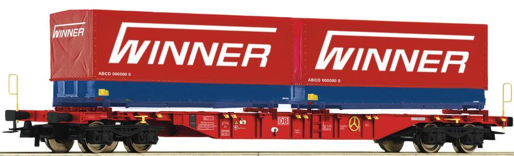 Roco 76621 H0 Containertragwagen DB AG VI