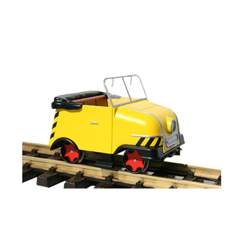 KRES G Gleiskraftrad GKR Typ 1 Schienentrabi gelb