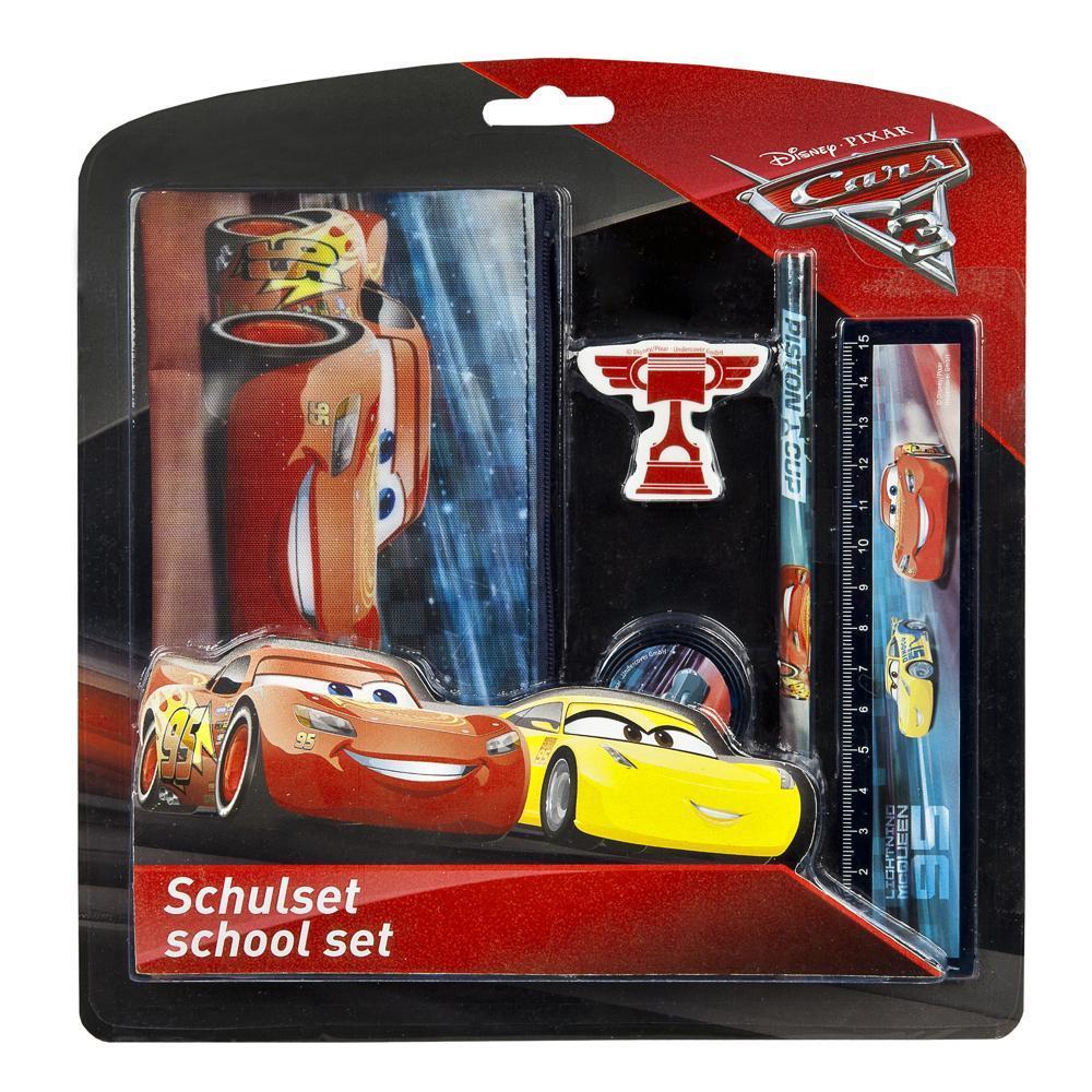 Disney Cars Schulset 5-teilig