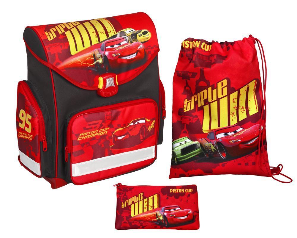 Undercover Ranzen-Set 3teilig Disney Cars