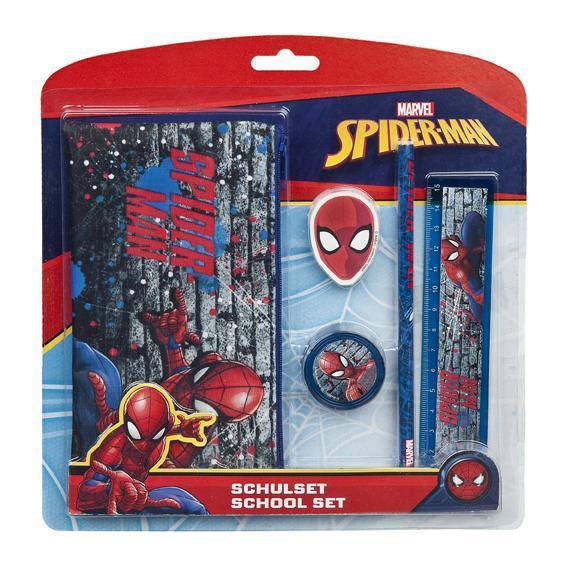 Spider-Man Schulset 5-teilig