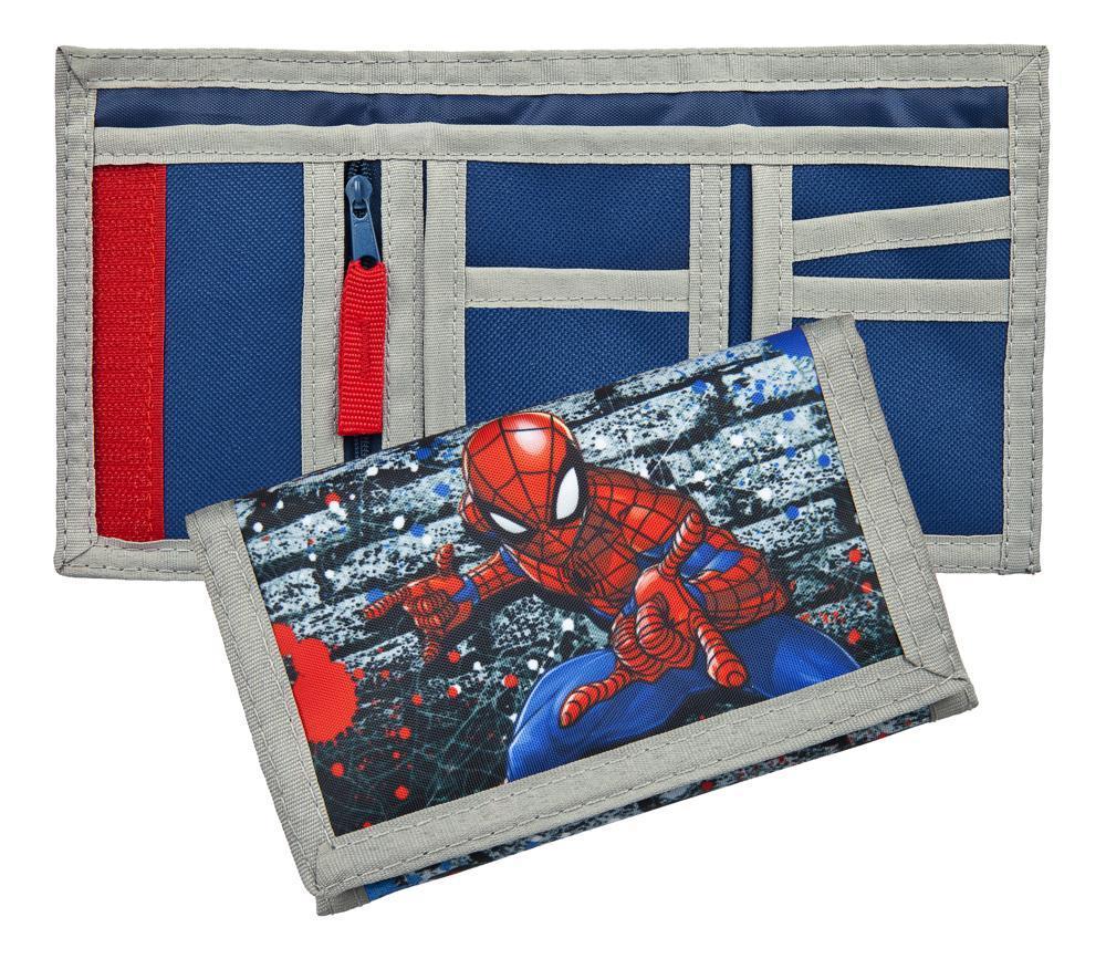 Spider-Man Geldbörse mit Headerkarte