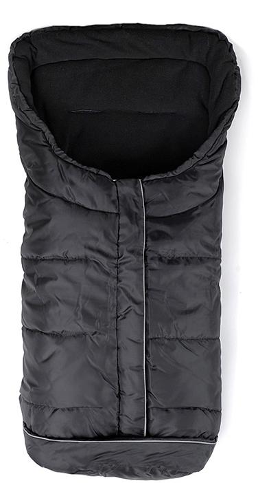 Winterfußsack Basic schwarz
