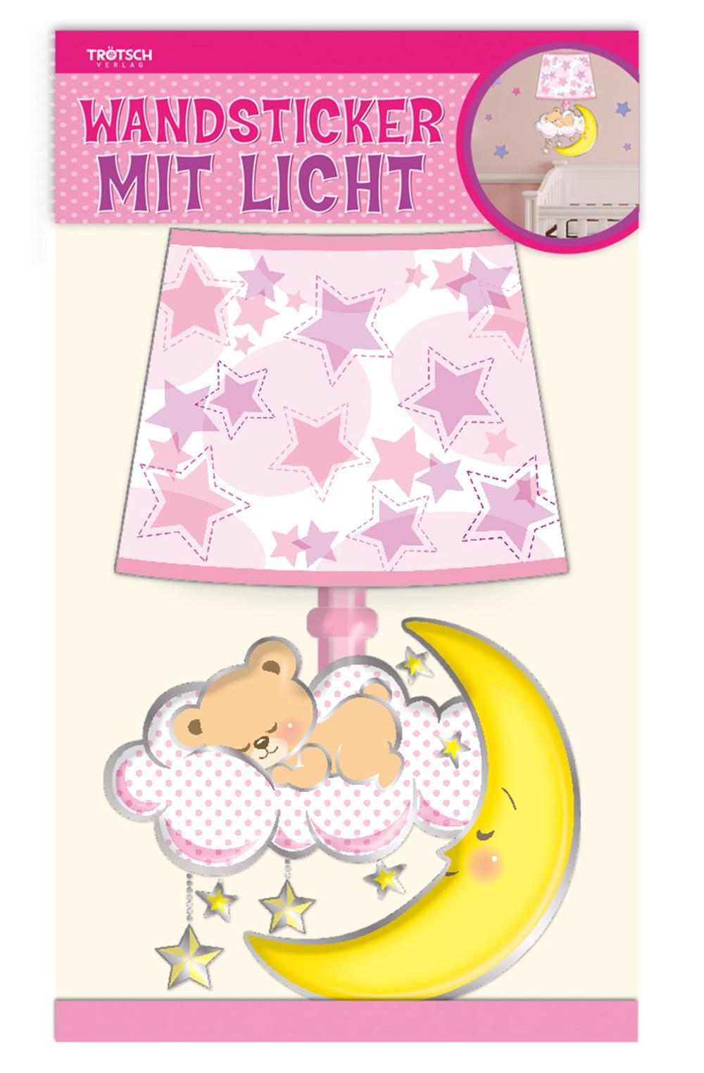 Wandsticker mit Licht Baby Girl
