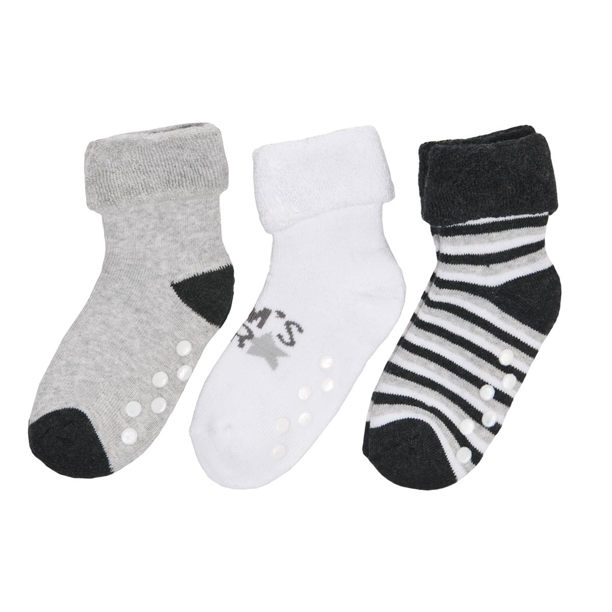 Baby Anti-Rutsch-Socken 3er Pack für Jungen