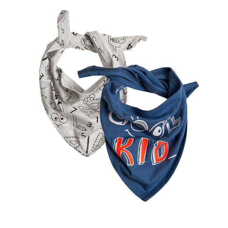 Baby Halstücher 2er Pack für Jungen