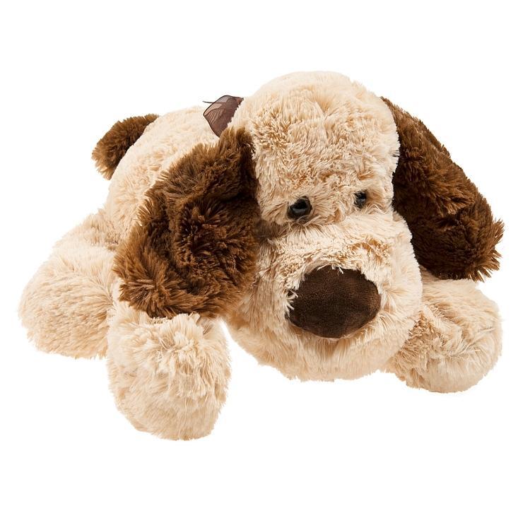 SMIKI Hund liegend beige 40cm bei Spiele Max