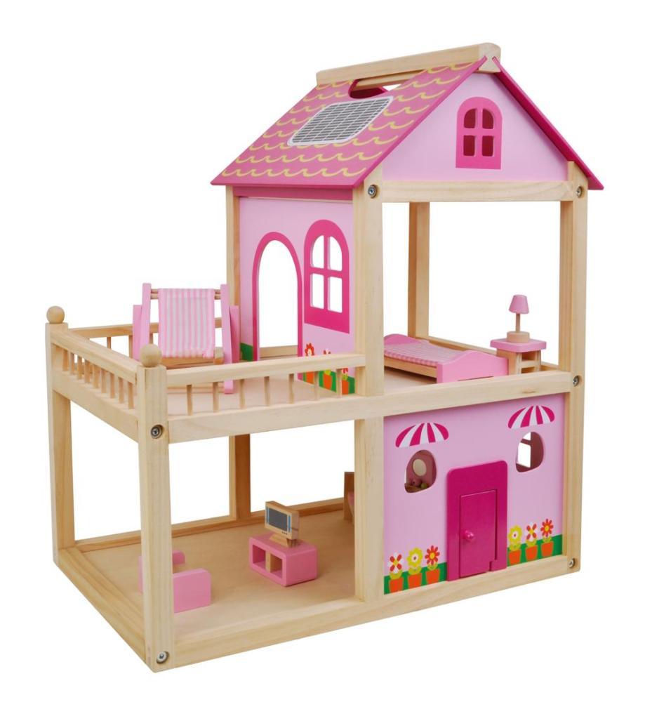 SMIKI Puppenhaus pink