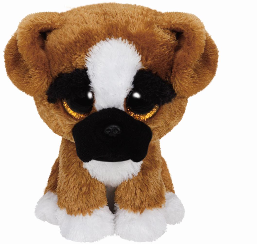 TY Beanie Boos Hund Boxer Brutus 15cm
