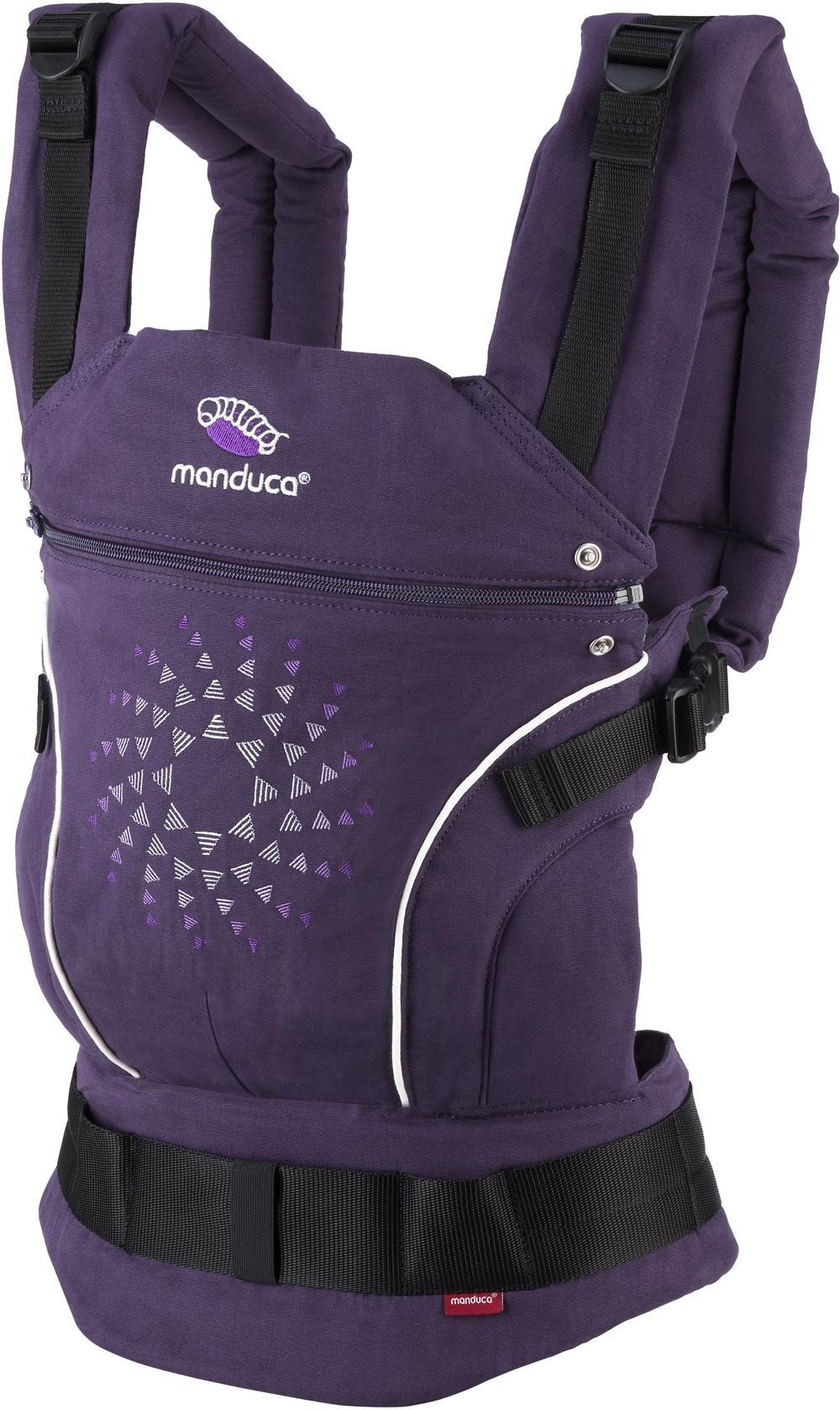 manduca Babytrage Limited Edition Purple Darts