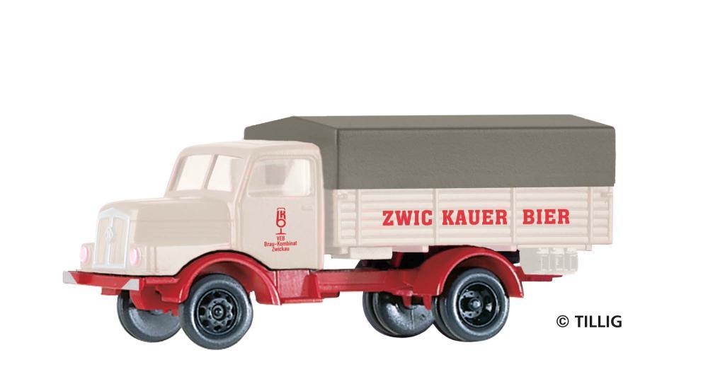 Tillig TT LKW H3A P/P Zwickauer Bier