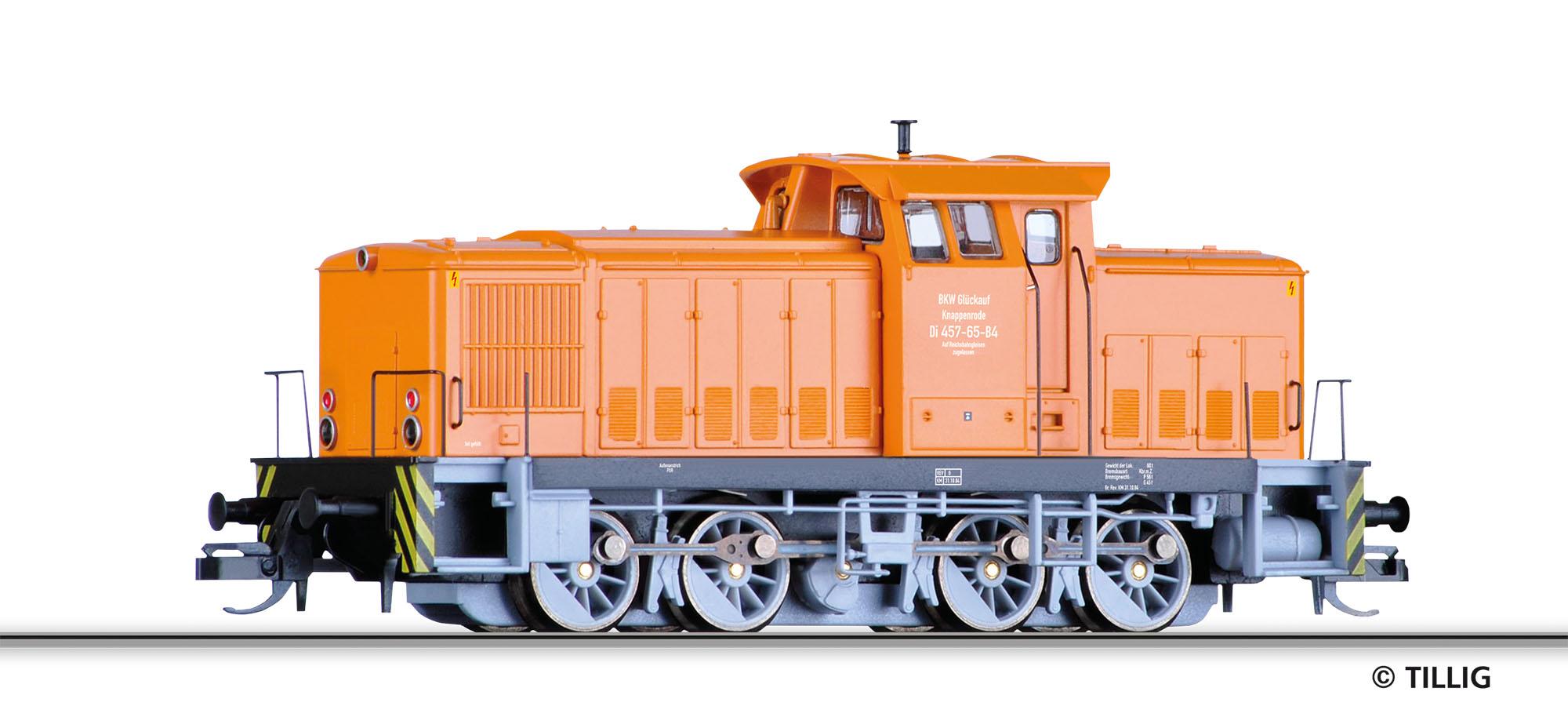 Tillig TT Diesellok V60D Werklok DR IV