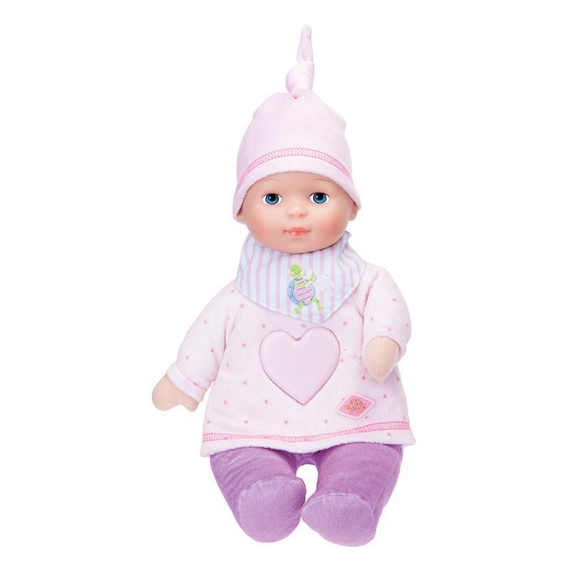 Schmusepuppe Baby Girl mit Musik und Licht