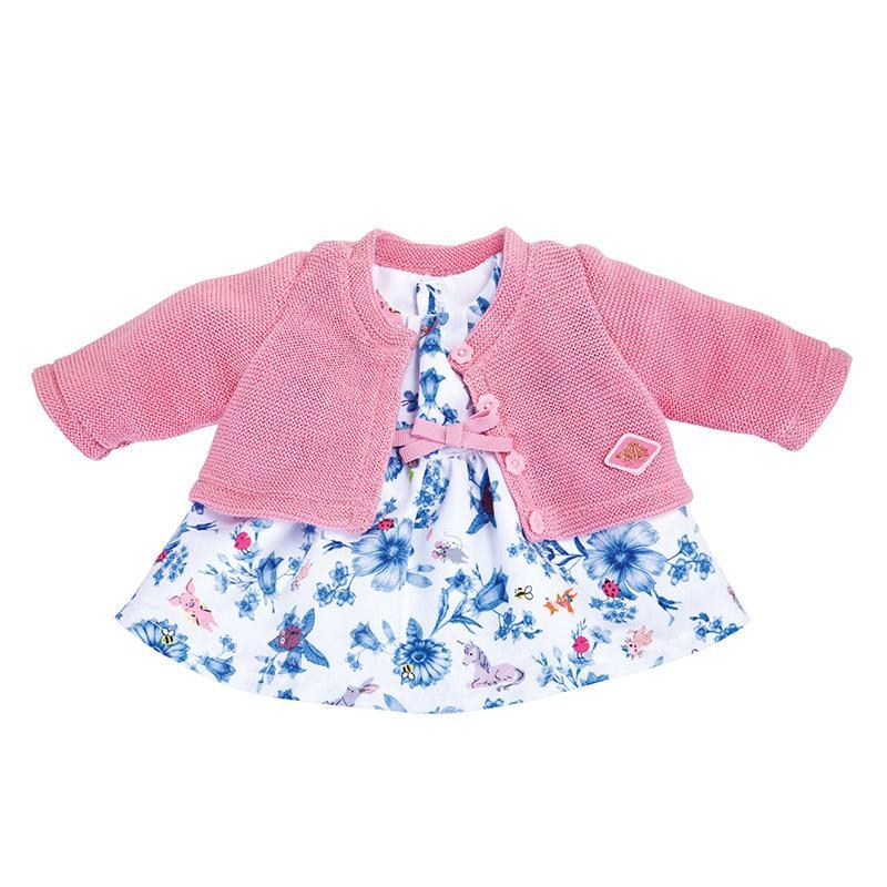 Puppen 2 in 1 Kleid mit Jacke Sommerfrische