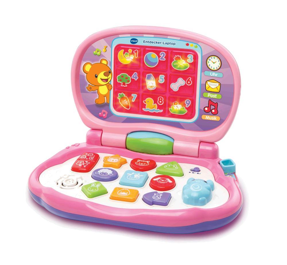 vtech entdecker laptop pink preisvergleich. Black Bedroom Furniture Sets. Home Design Ideas