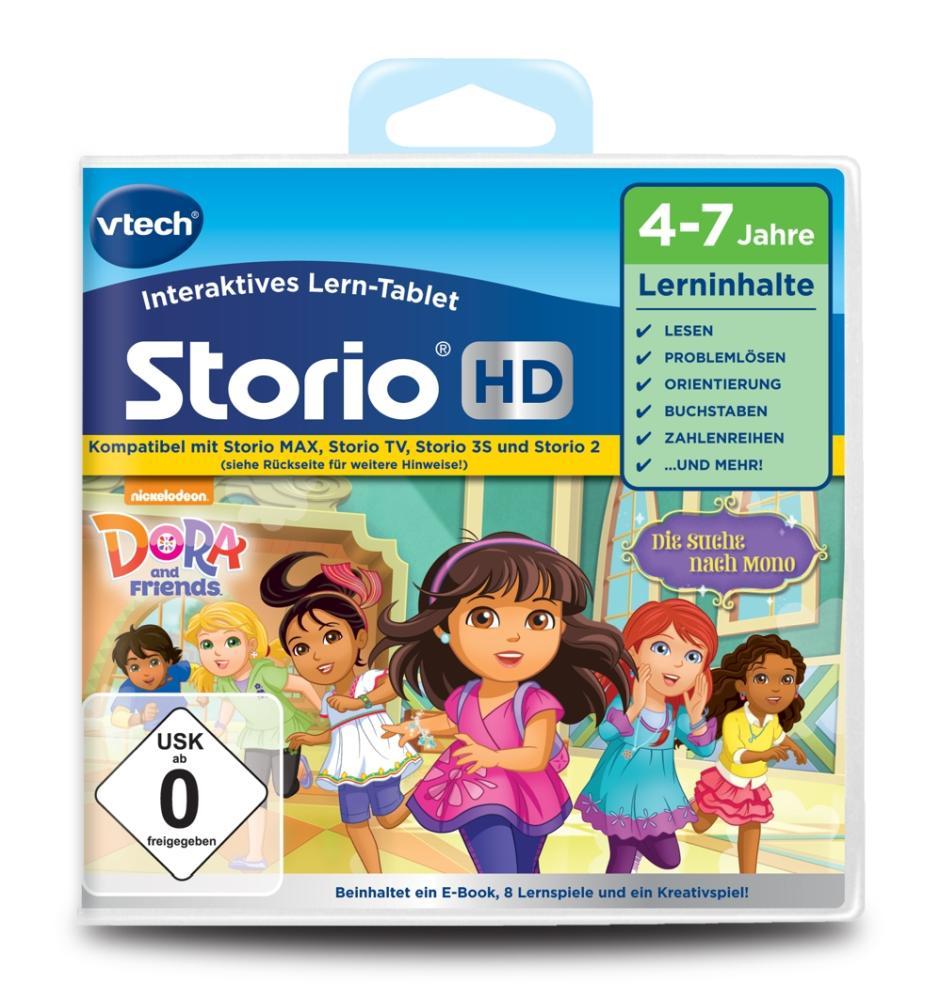 Vtech Storio Lernspiel Dora und Freunde HD
