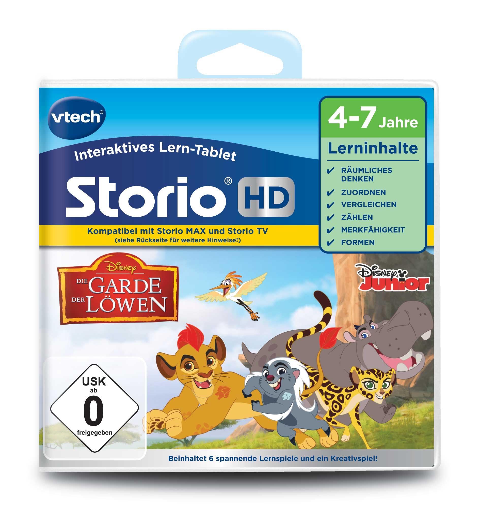 Vtech Storio Lernspiel Die Garde der Löwen HD