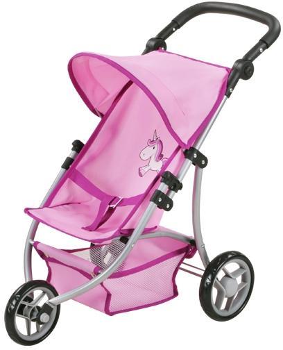 knorr toys Jogger-Puppenbuggy Lio Einhorn Pink