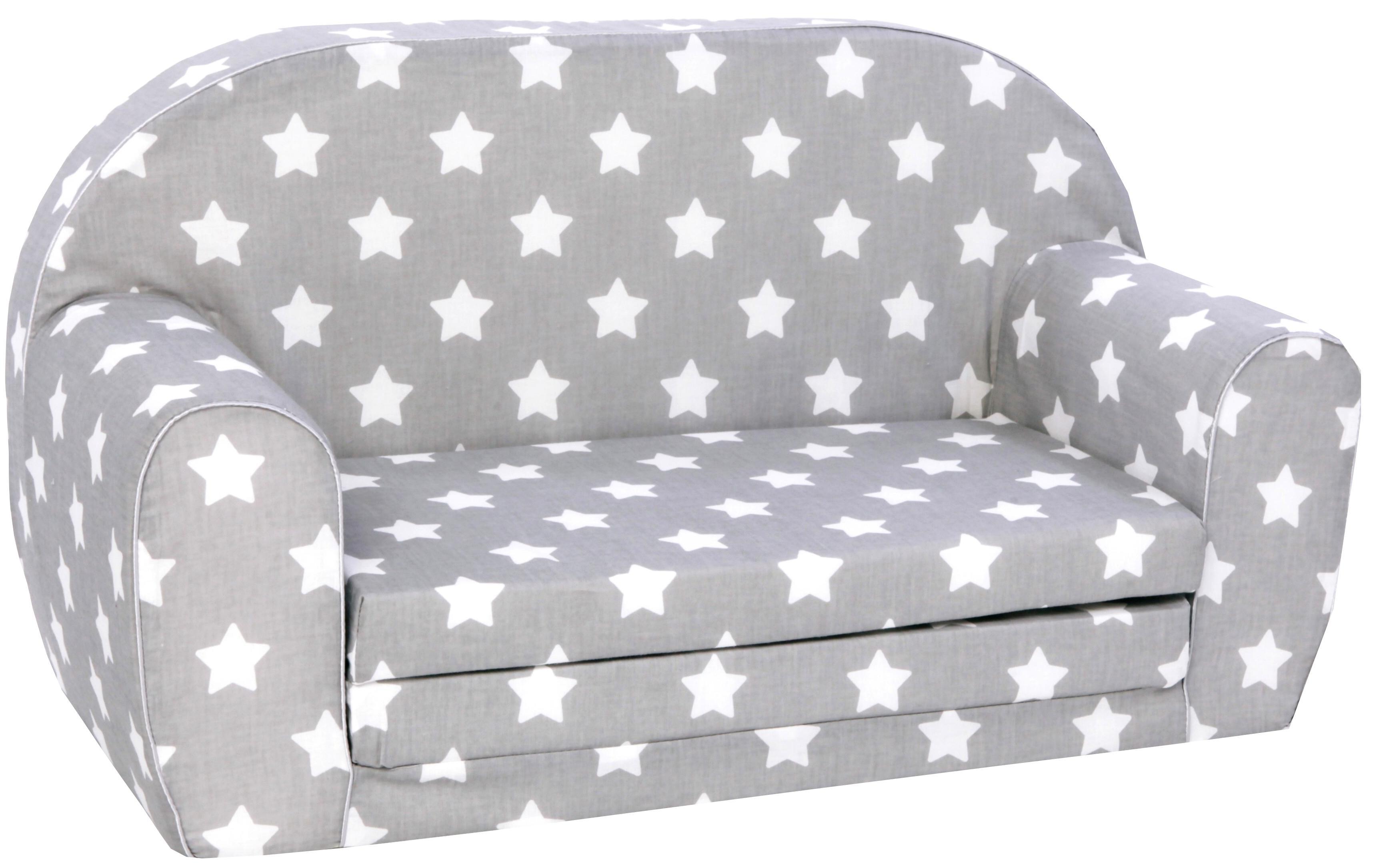 knorr toys Kindersofa Stars White