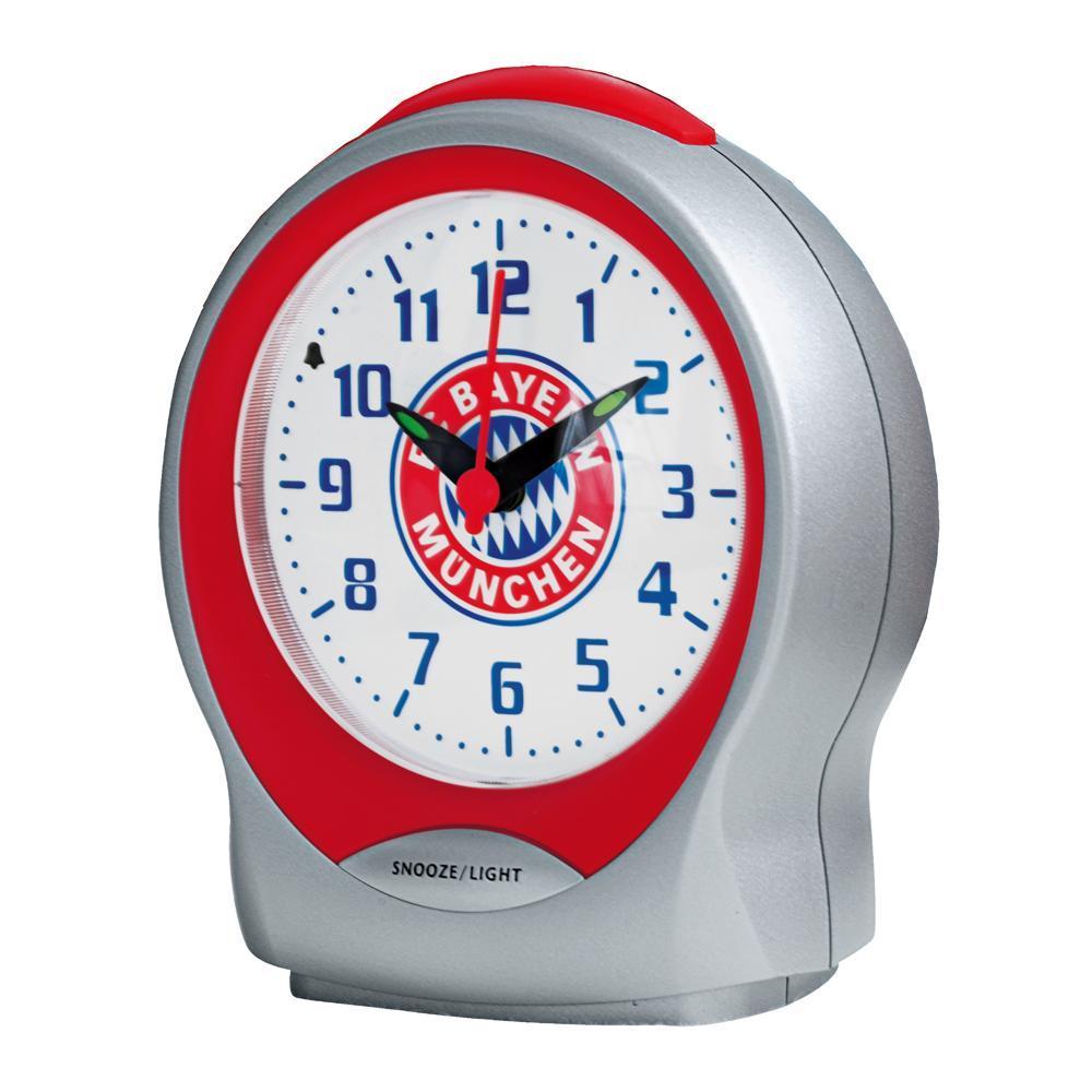 FC Bayern Wecker mit Emblem