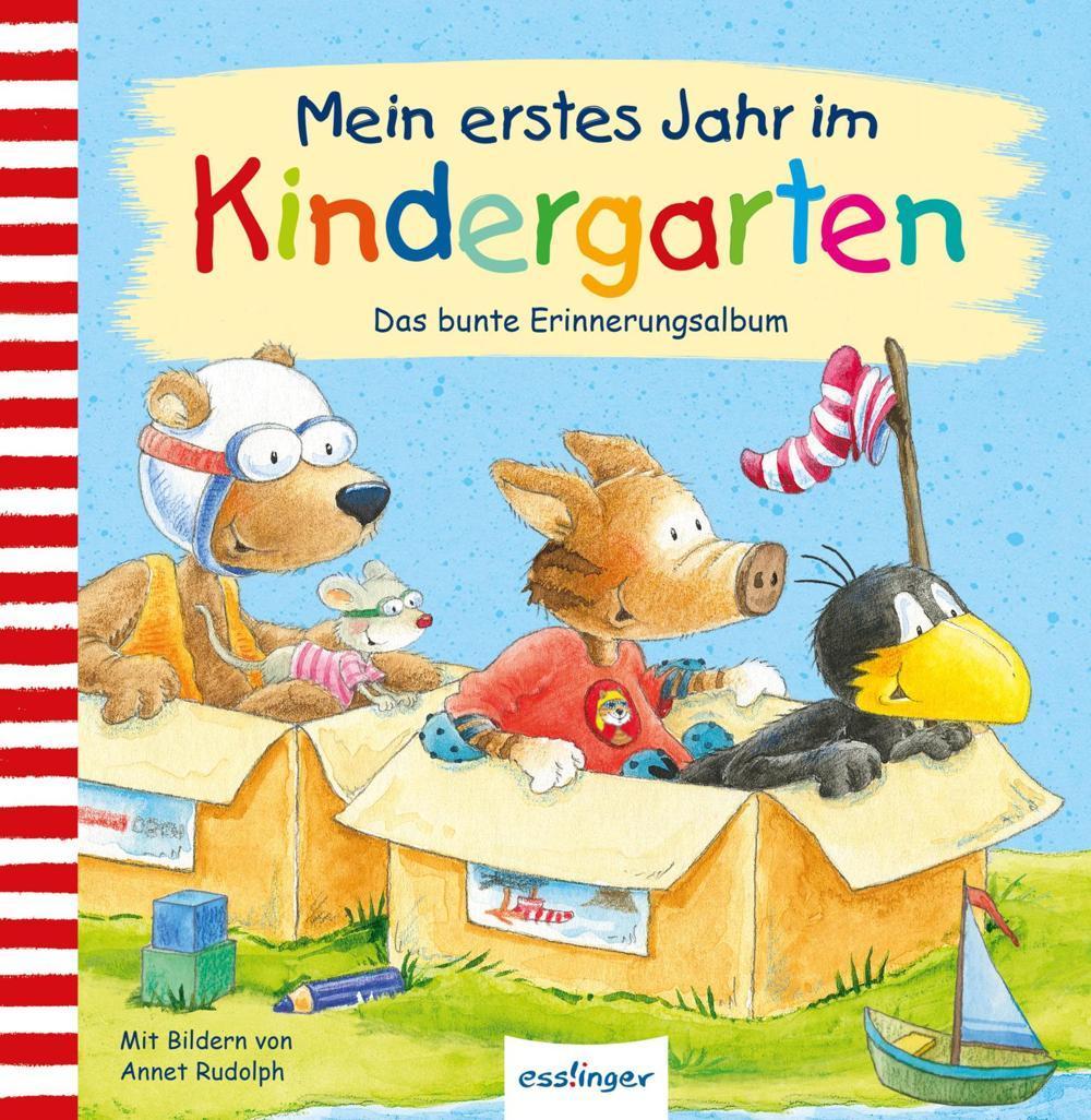 Rabe Socke - Erstes Jahr im Kindergarten