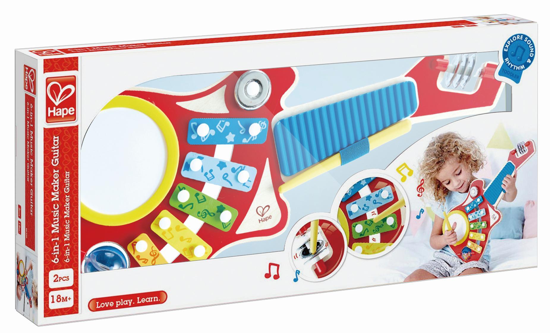 Hape 6in1 Musikinstrument