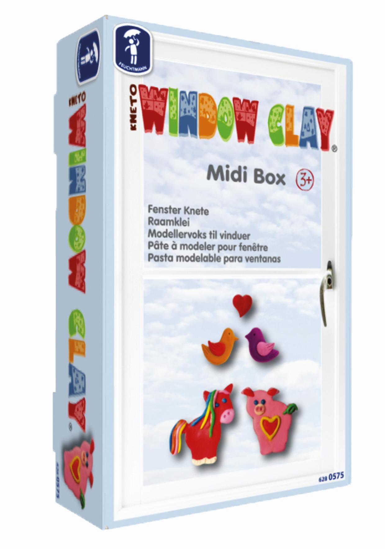KNETO WINDOW CLAY Midi