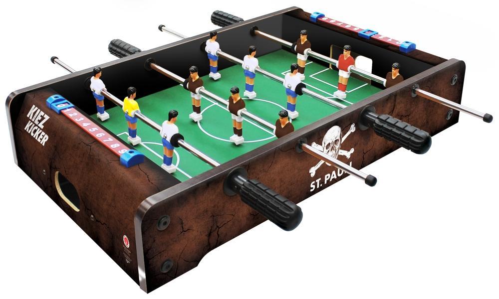 Kiez Kicker St.Pauli als Tischauflagemodell