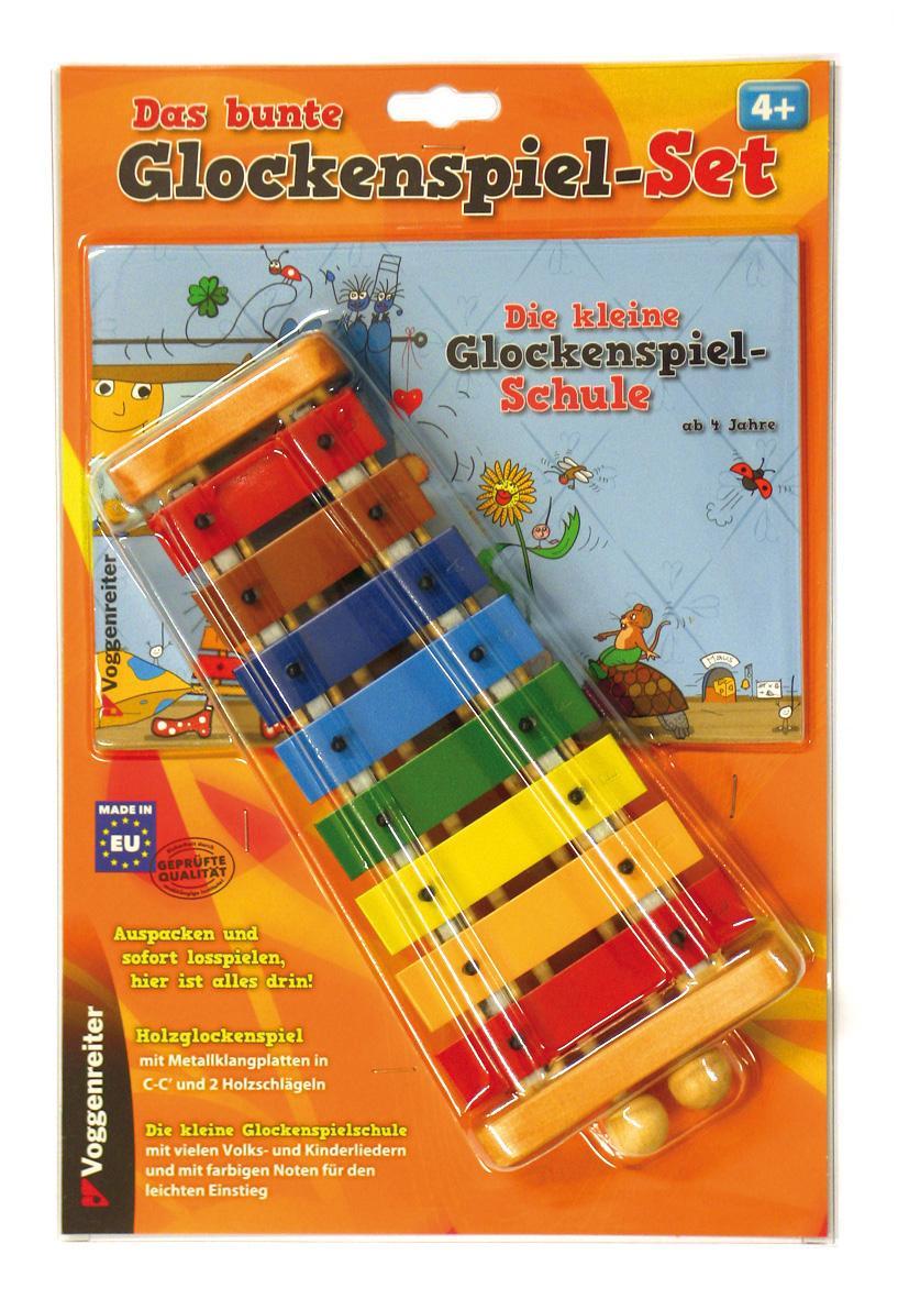 Buntes Glockenspiel Set