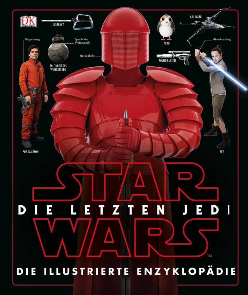 Star Wars Episode VIII illustrierte Enzyklopädie