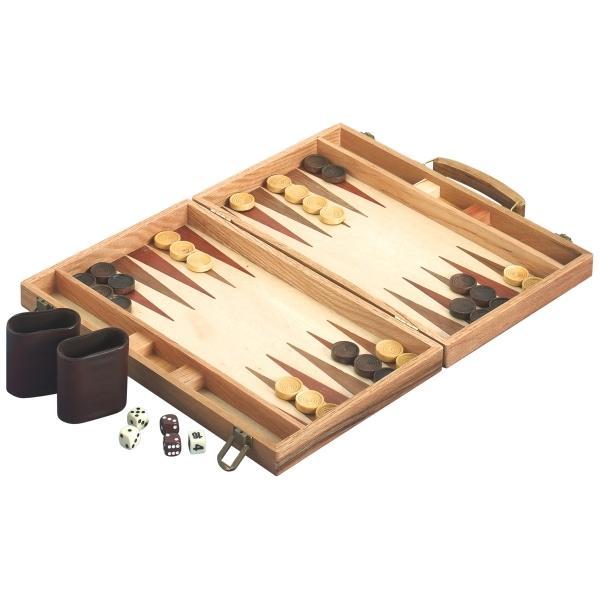 Natur Games Backgammon FSC Holz