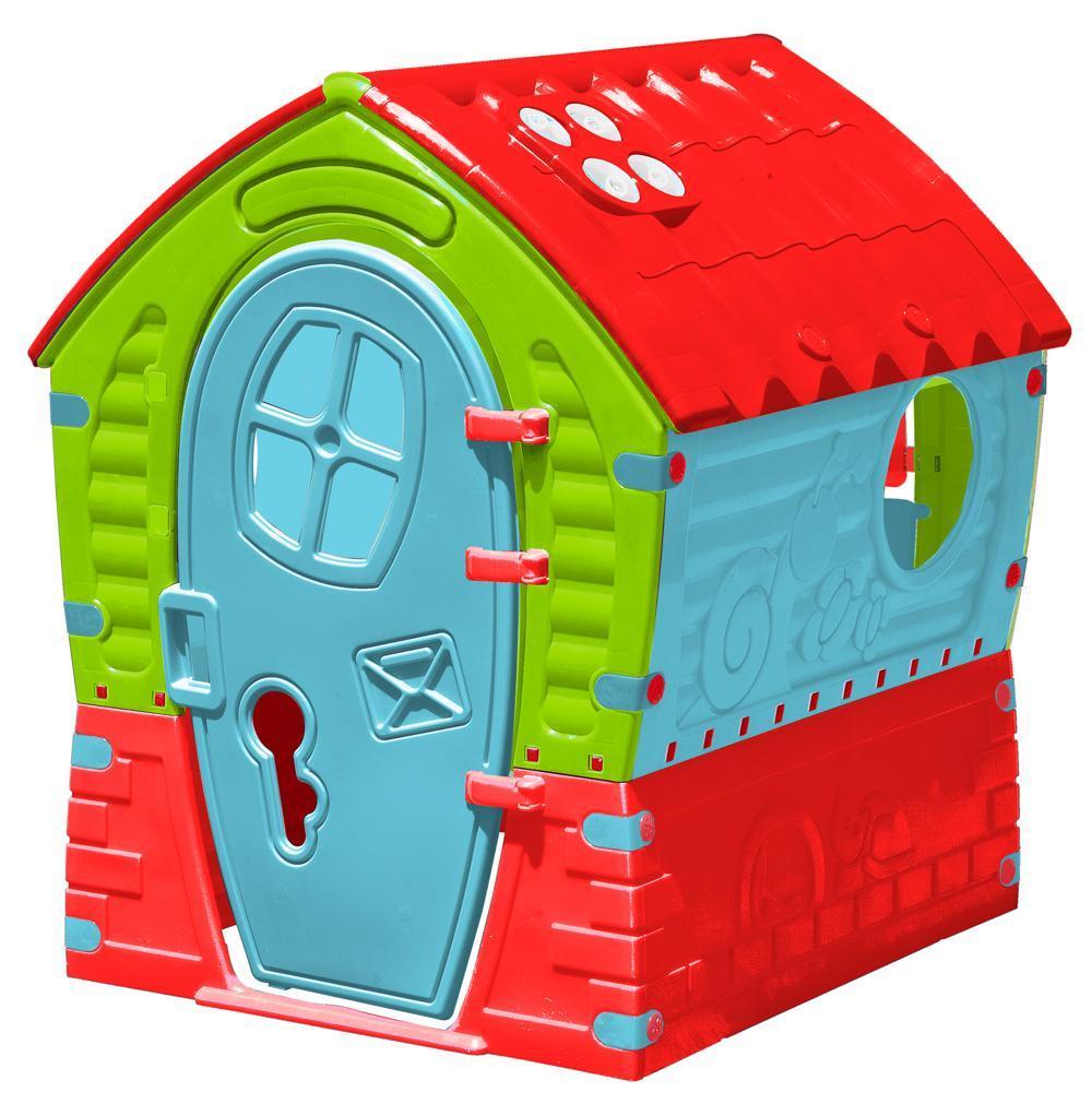Kinderspielhaus Dream House kräftige Farben