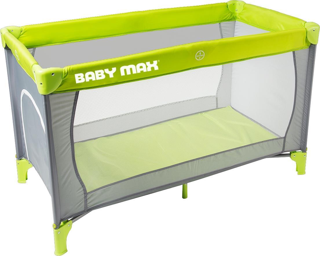 BABY MAX Reisebett Grün