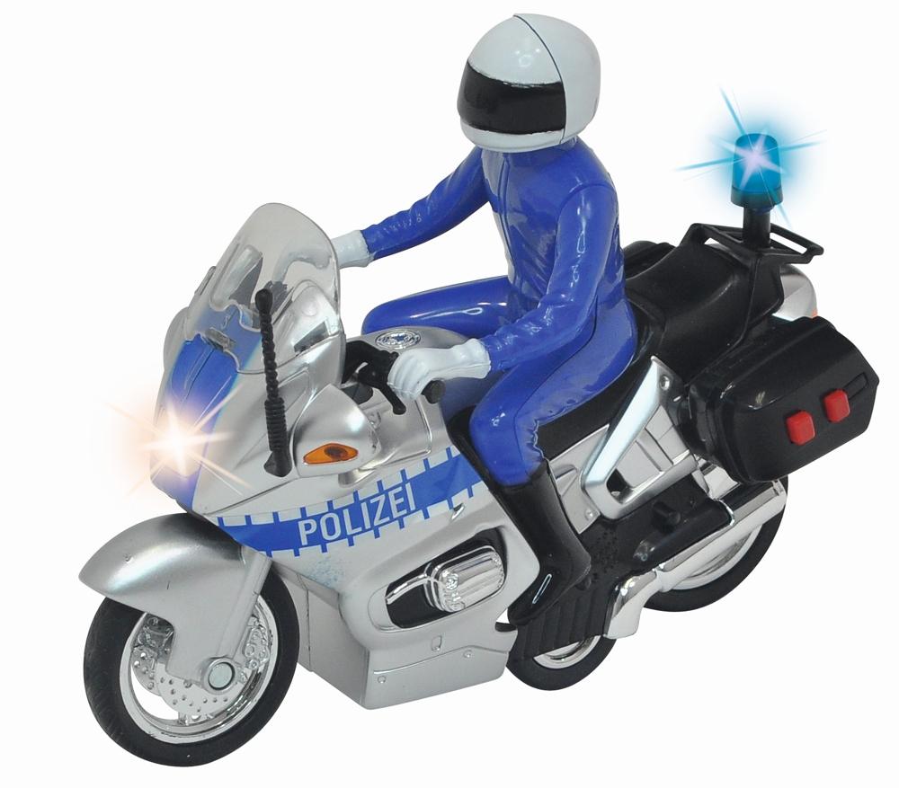 Dickie Polizeimotorrad mit Funktion