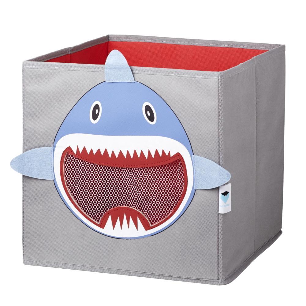 Spielzeugkiste Fenster Hai