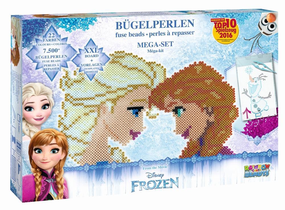 Bügelperlenset Mega-Set Disney Die Eiskönigin