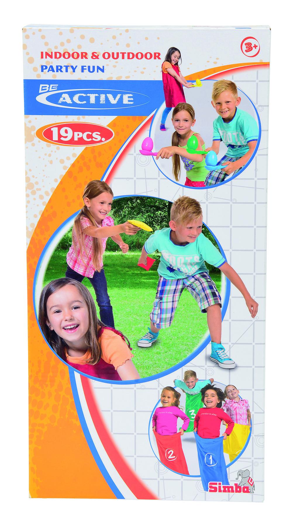 Simba Kinder Party-Spiele-Set
