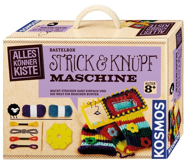 KOSMOS Alles Könner Kiste Strick-und Knüpfmaschine