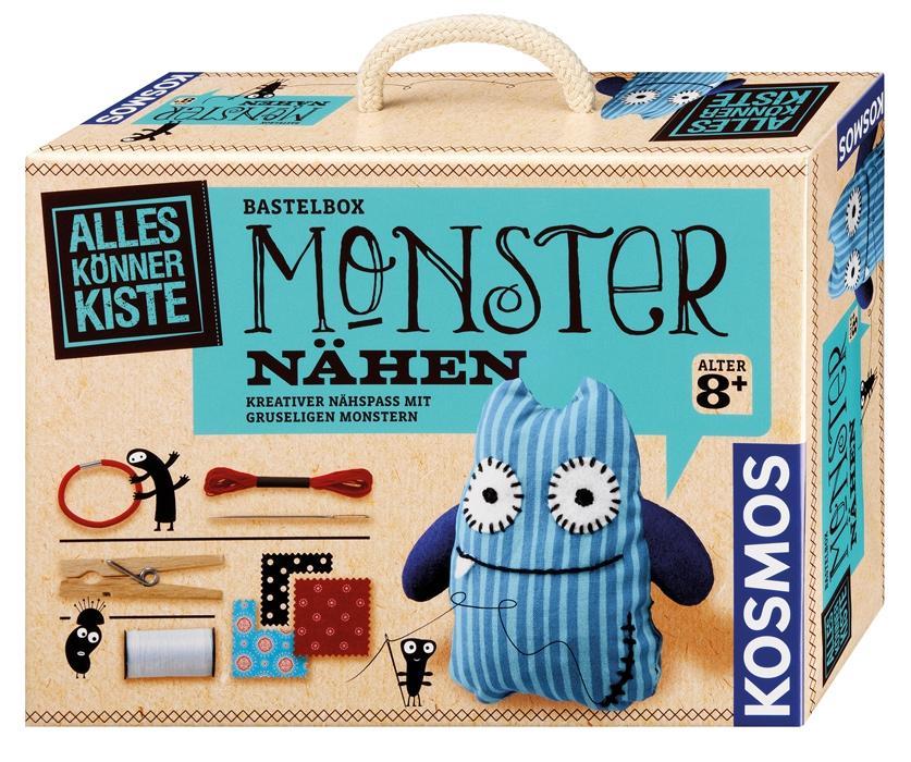 KOSMOS Alles Könner Kiste Bastelbox Monster nähen