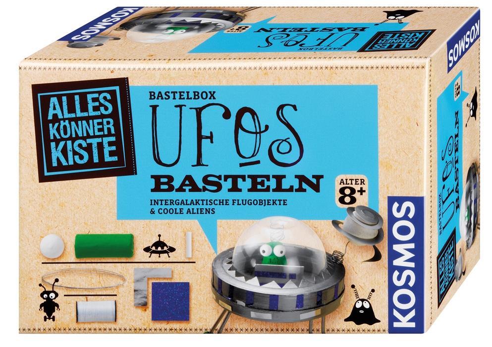 KOSMOS Alles Könner Kiste Bastelkiste UFOs basteln