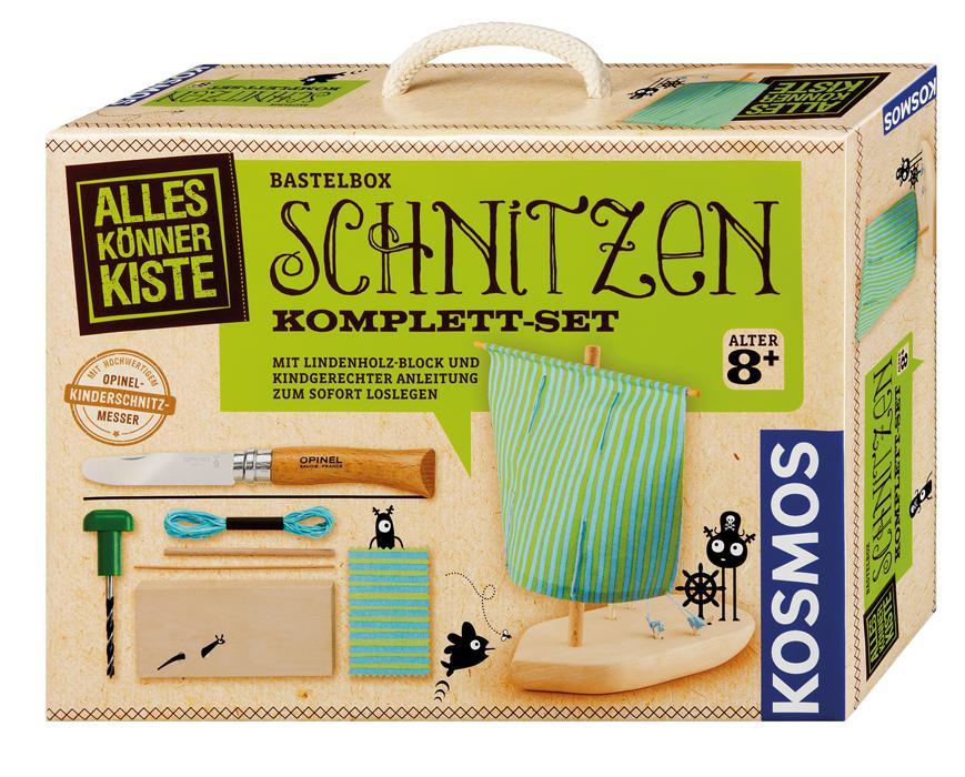 KOSMOS Alles Könner Kiste Schnitzen Komplett-Set