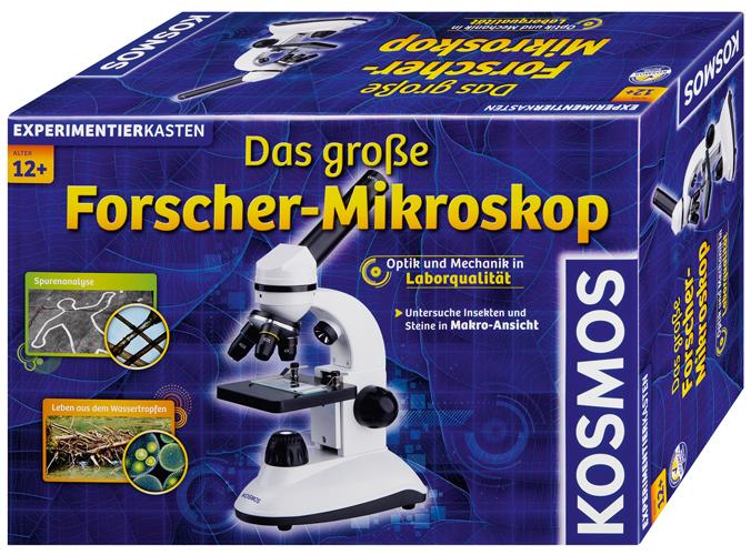 KOSMOS Experimentierkasten Forscher Mikroskop