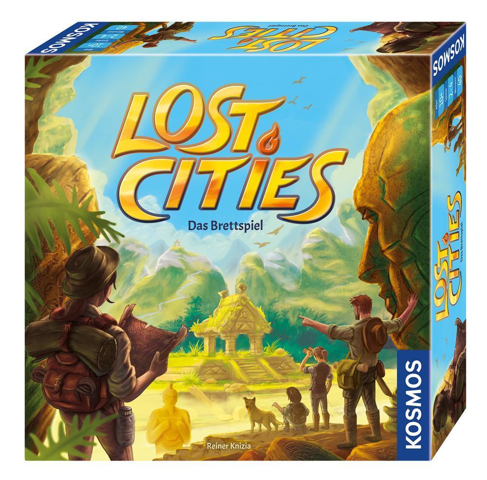 KOSMOS Lost Cities - Das Brettspiel