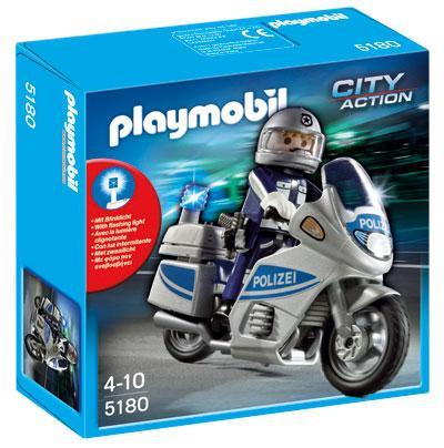 Playmobil 5180 Polizeimotorrad